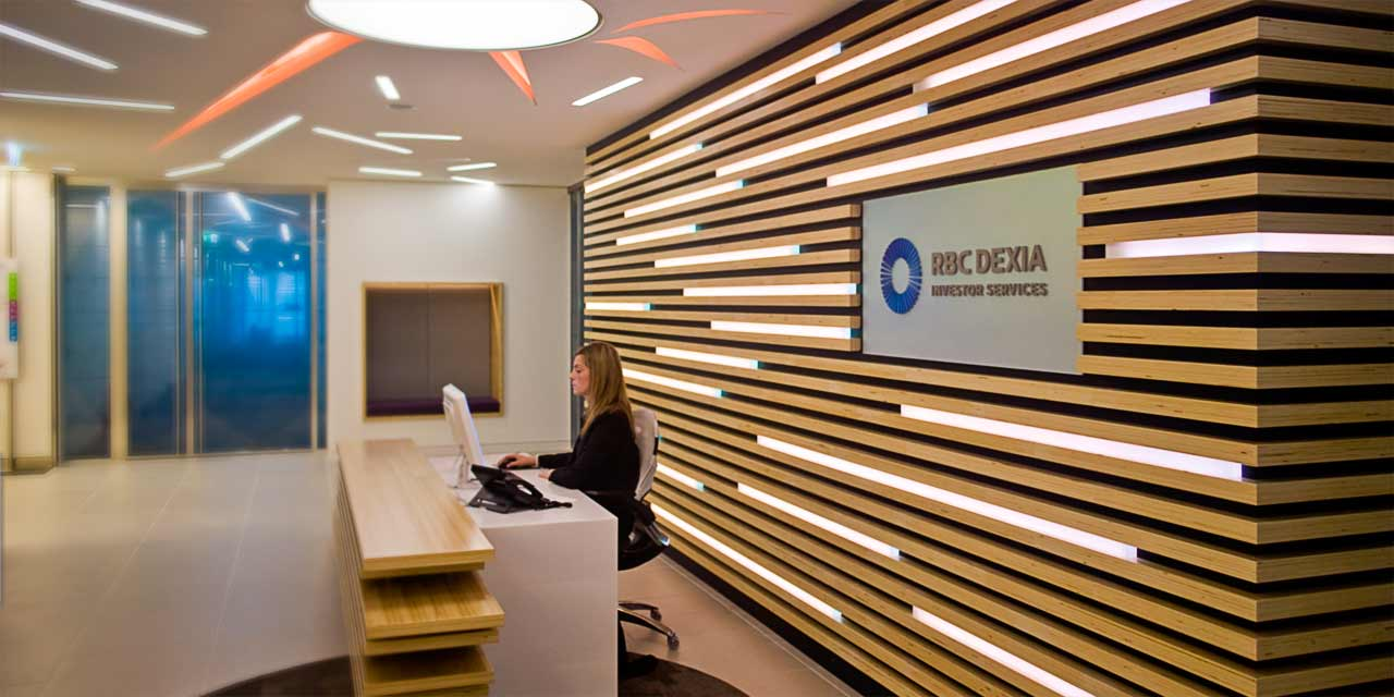 Interior Large Format Office Graphics for Leading Financial Institution