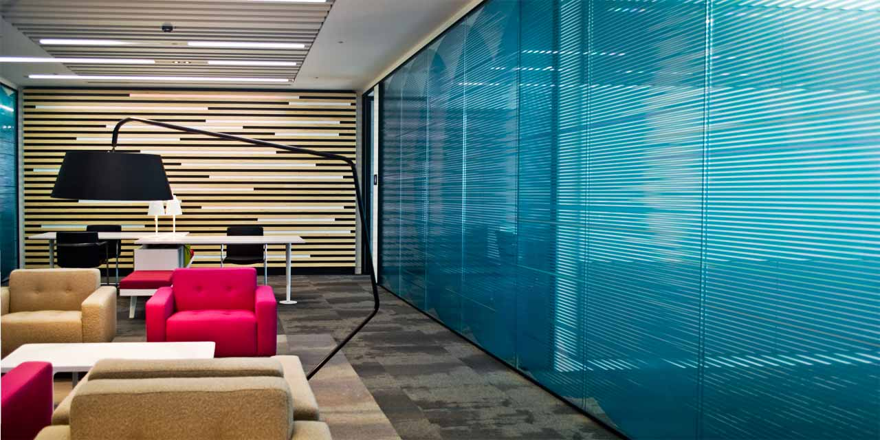 Interior Office Graphics Large Format Graphic Design for Leading Financial Institution