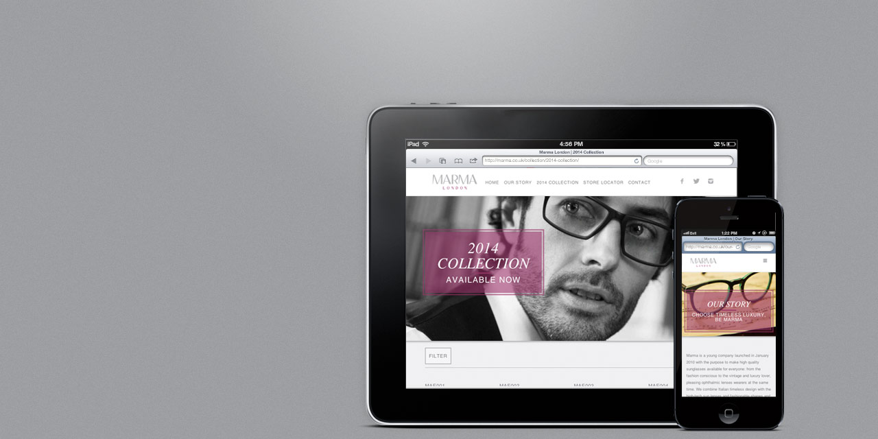 index-marma-eyewear-responsive-cms-website-design