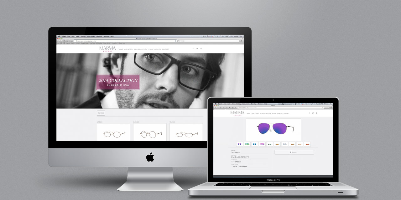 marma-london-eyewear-responsive-cms-website-design