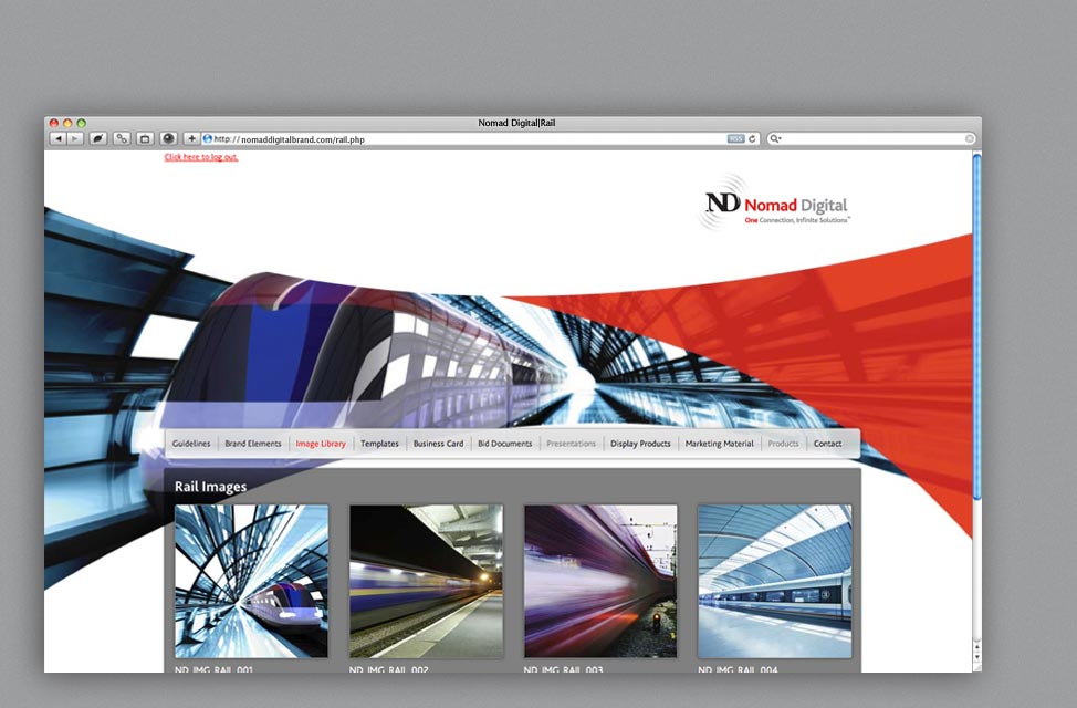 Website Design for International Telecommunications Company