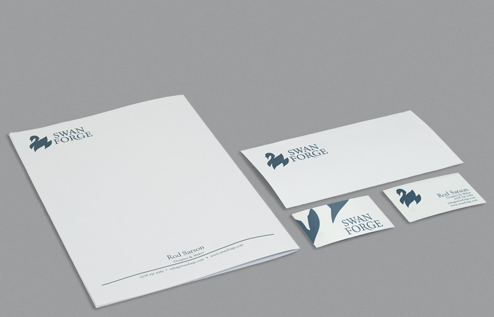 Logo and Stationery Design for Blacksmith